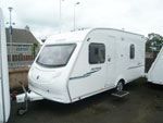 Alpine 4 Fixed Bed Caravan Exterior